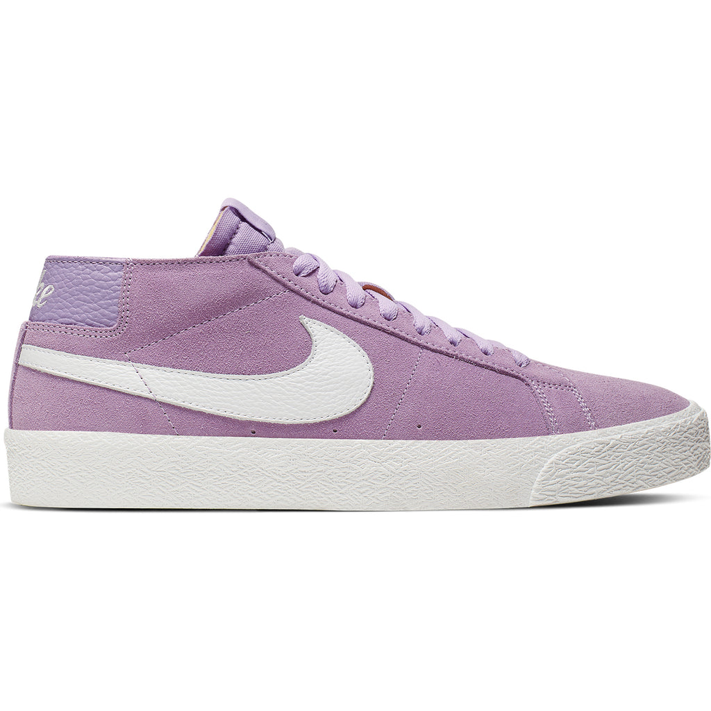 Nike SB Zoom Blazer Chukka Shoes in Violet Star / Summit White