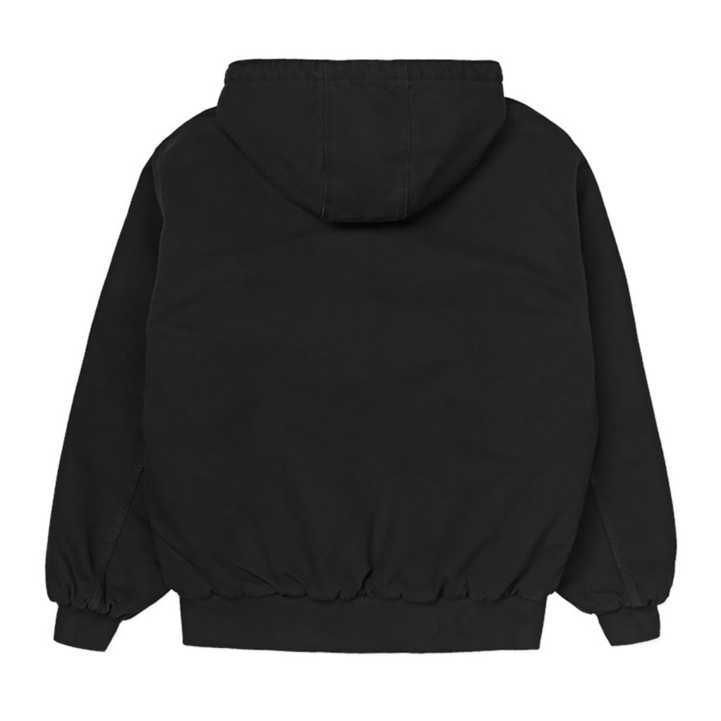 Carhartt WIP OG Active Jacket in Black Aged Canvas - Back