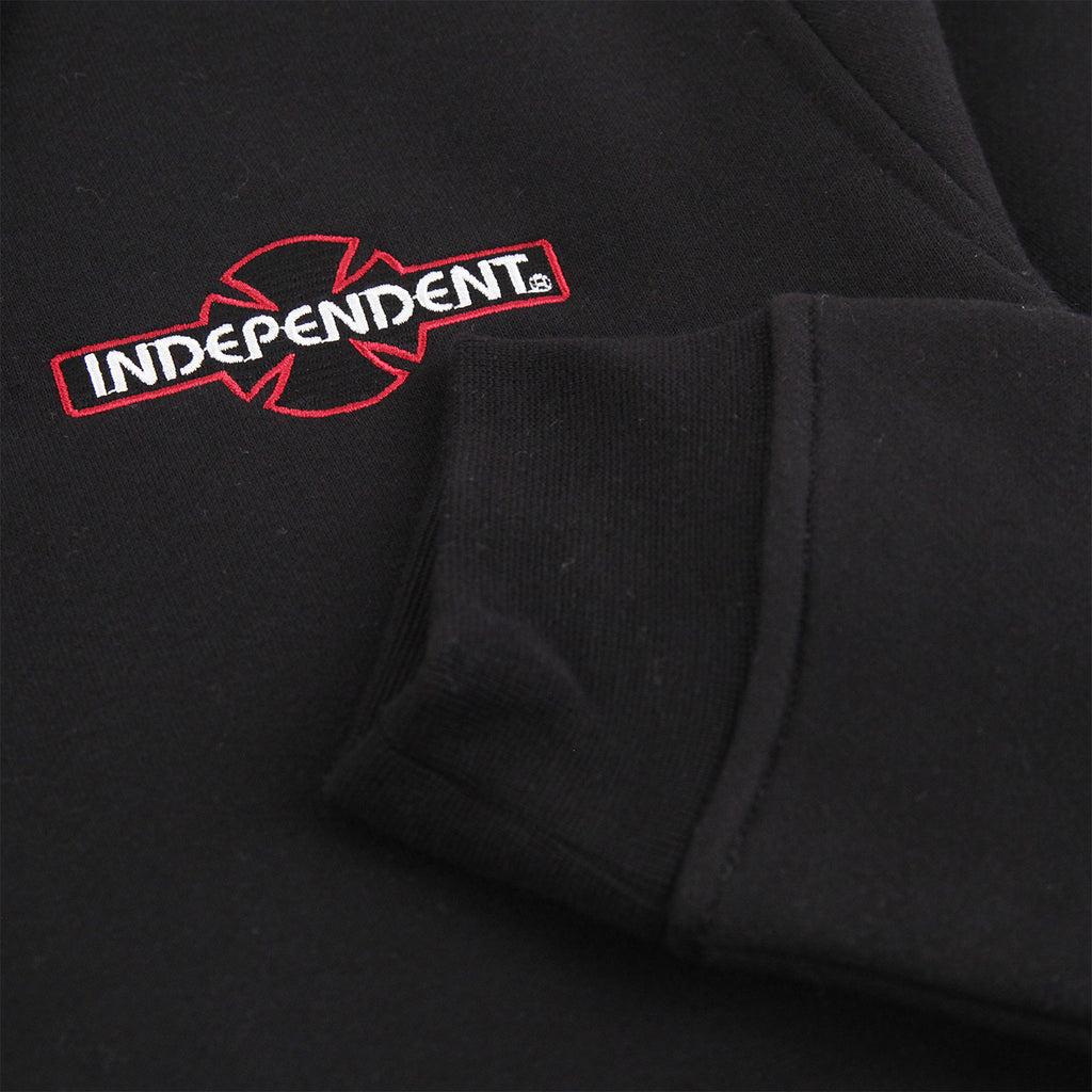 Independent Trucks O.G.B.C Embroidered Polo Crew in Black - Cuff