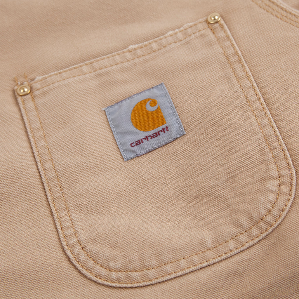 Carhartt WIP OG Chore Coat in Dusty H Brown - Pocket