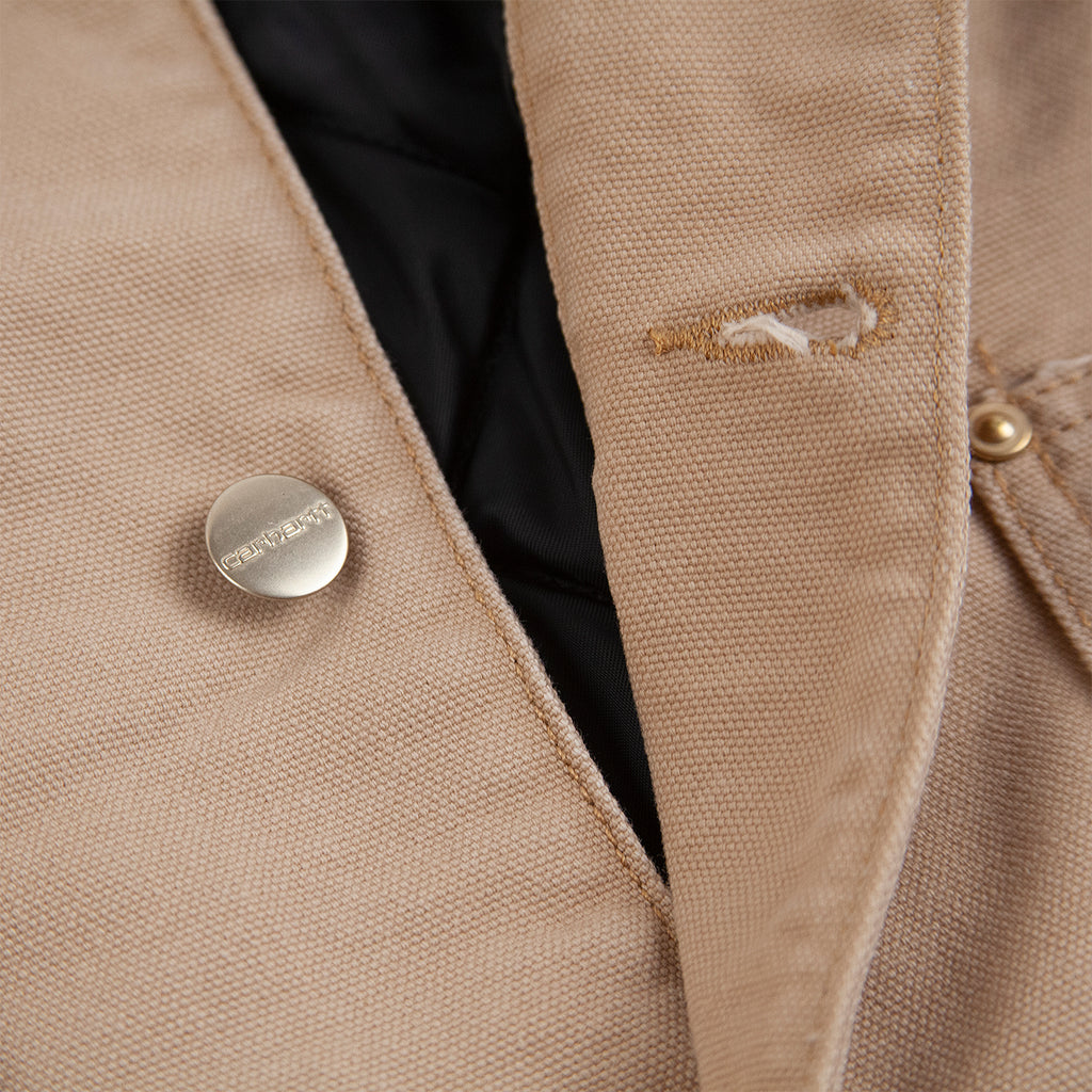 Carhartt WIP OG Chore Coat in Dusty H Brown - Unbuttoned