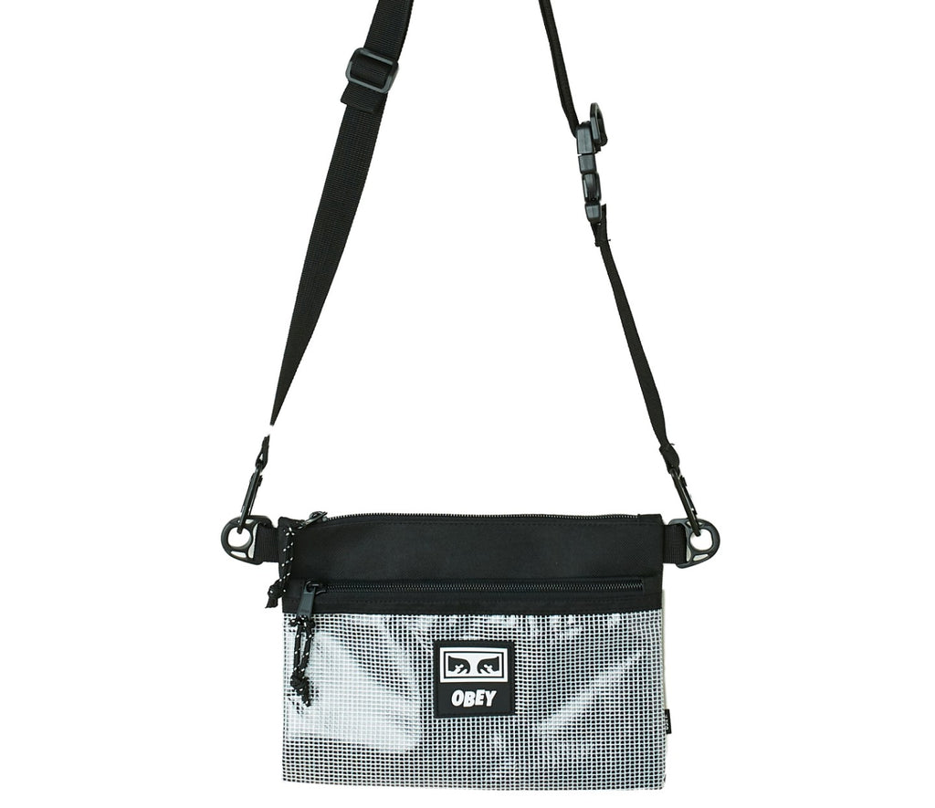 Obey Clothing Conditions Side Bag II in Black