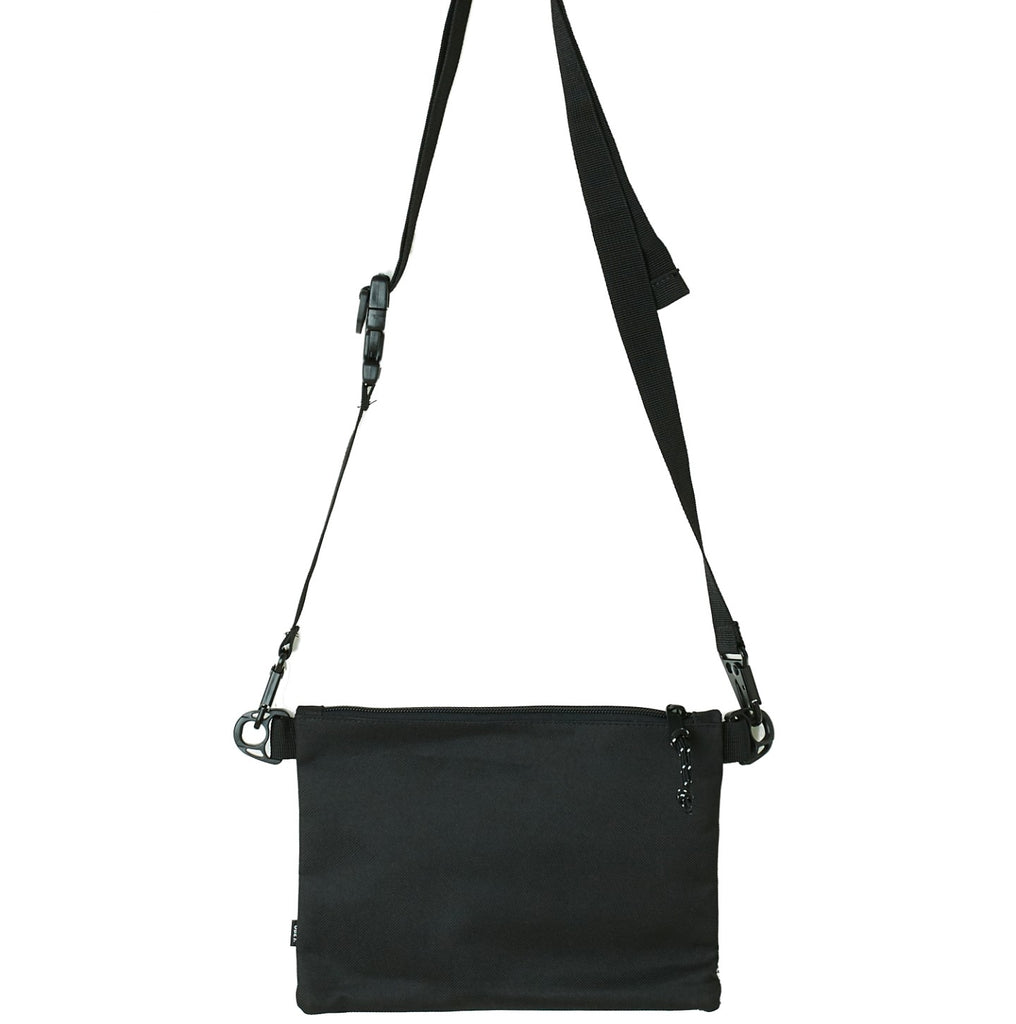 Obey Clothing Conditions Side Bag II in Black - Back