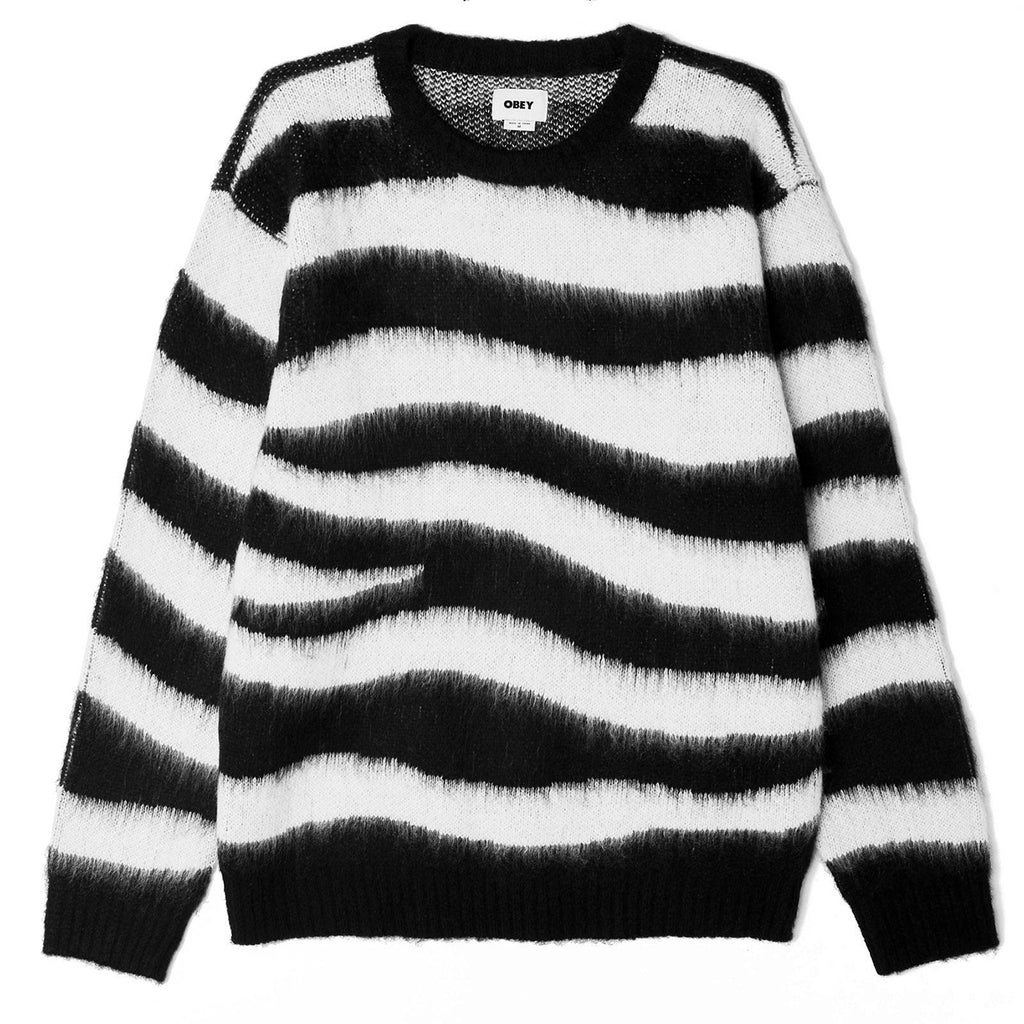 Obey Clothing Dream Sweater in Black Multi