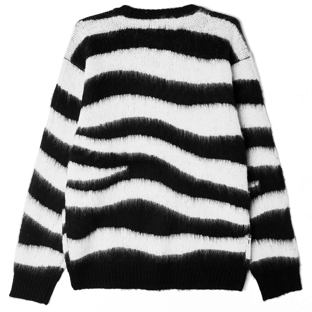 Obey Clothing Dream Sweater in Black Multi - Back