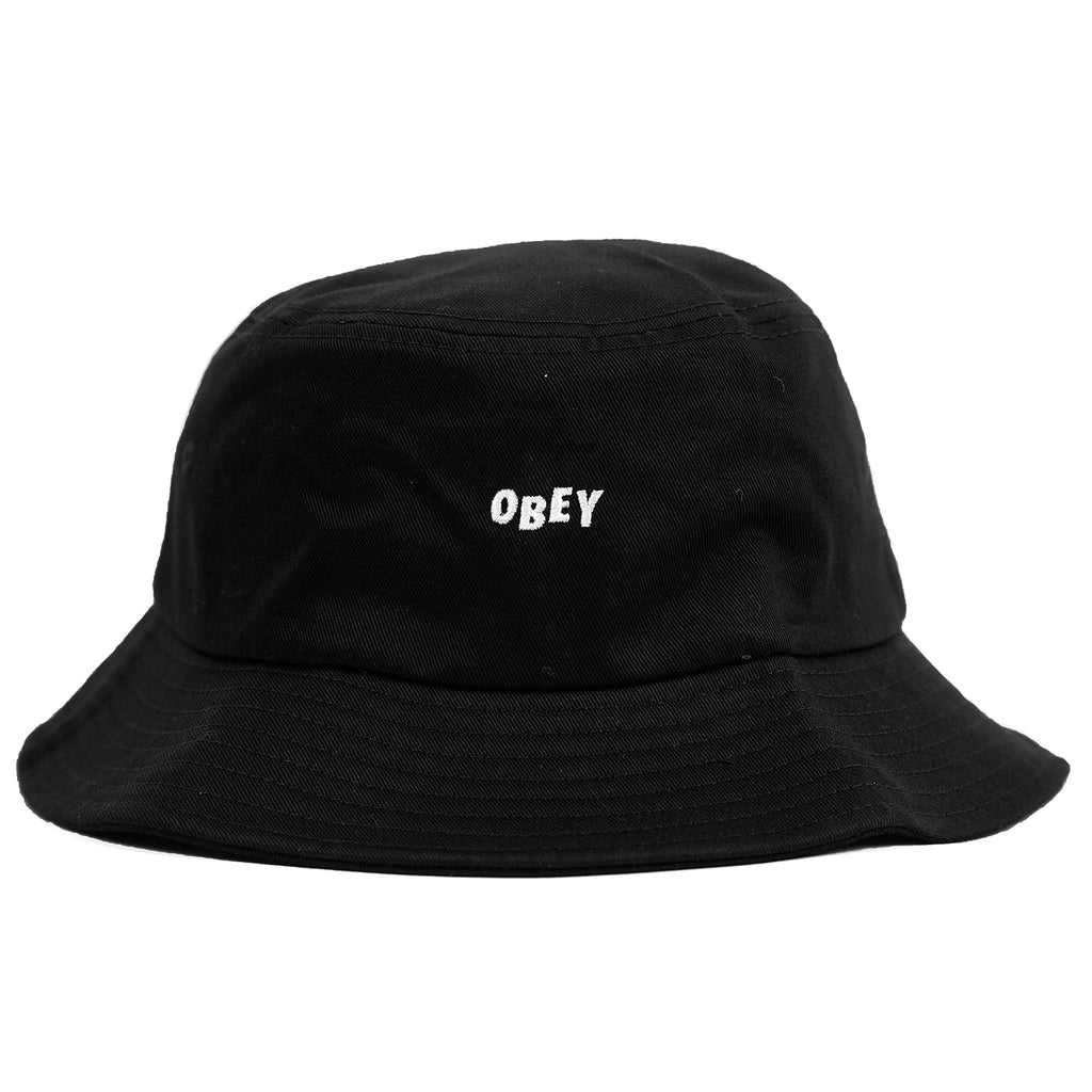 Obey Clothing Jumbled Bucket Hat in Black