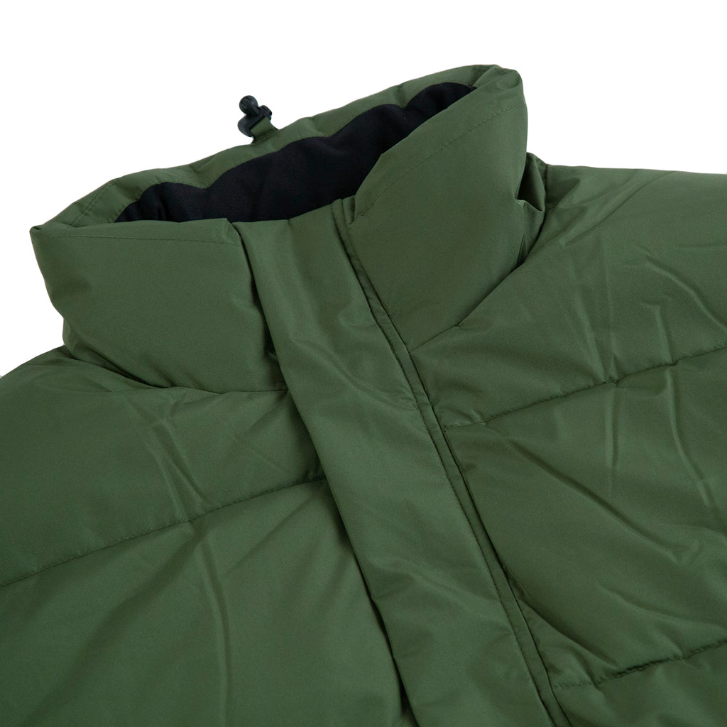 Dickies Olaton Jacket in Army Green - Detail