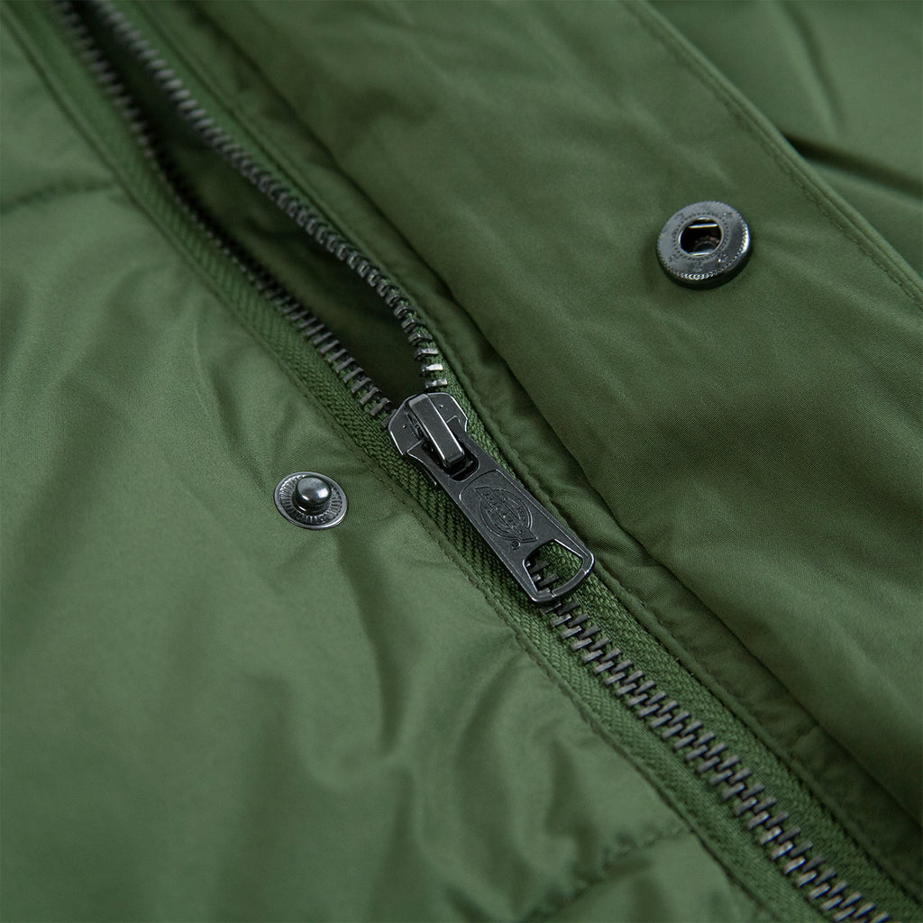Dickies Olaton Jacket in Army Green - Zip