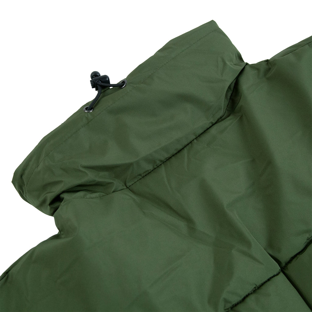 Dickies Olaton Jacket in Army Green - Collar