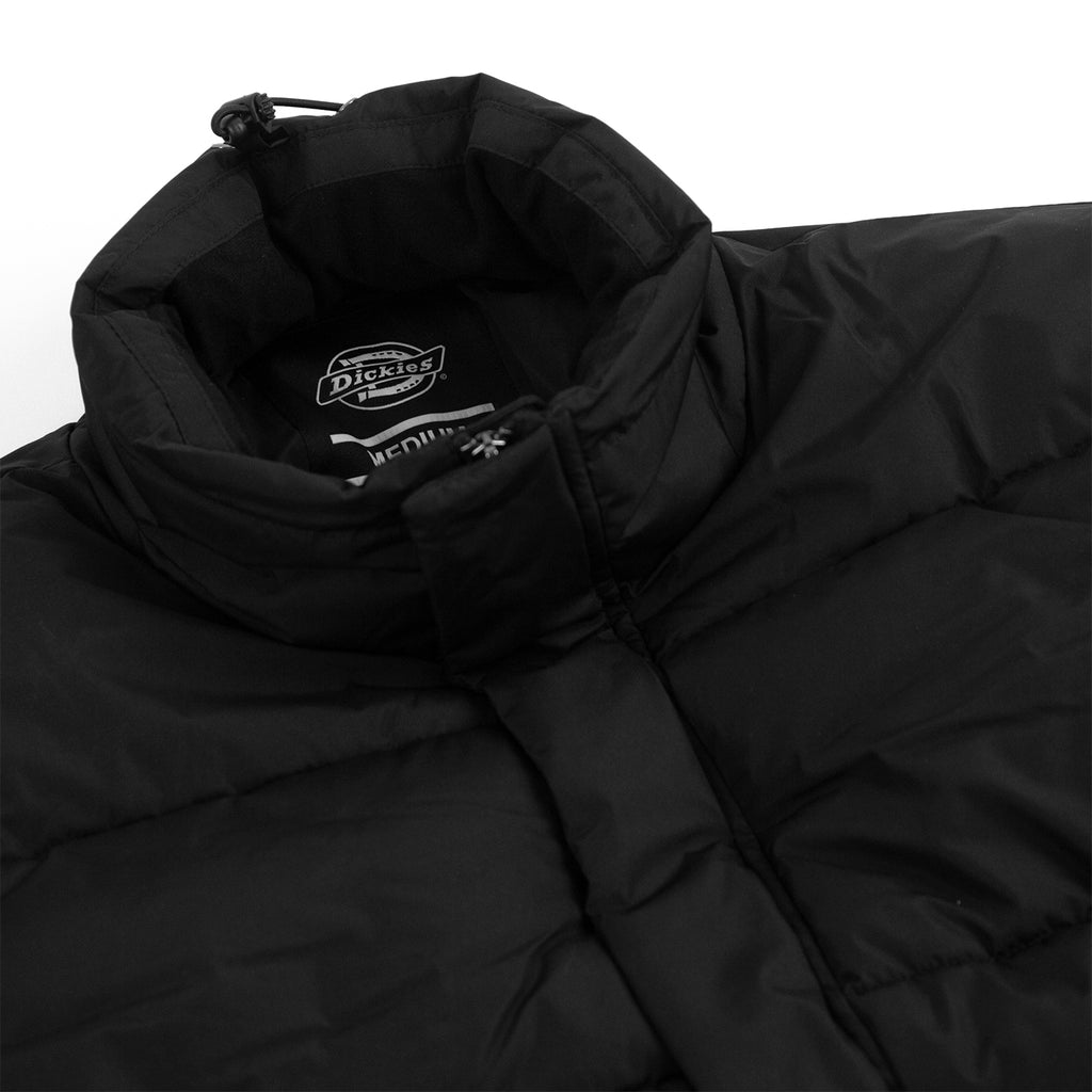 Dickies Olaton Jacket in Black - Neck