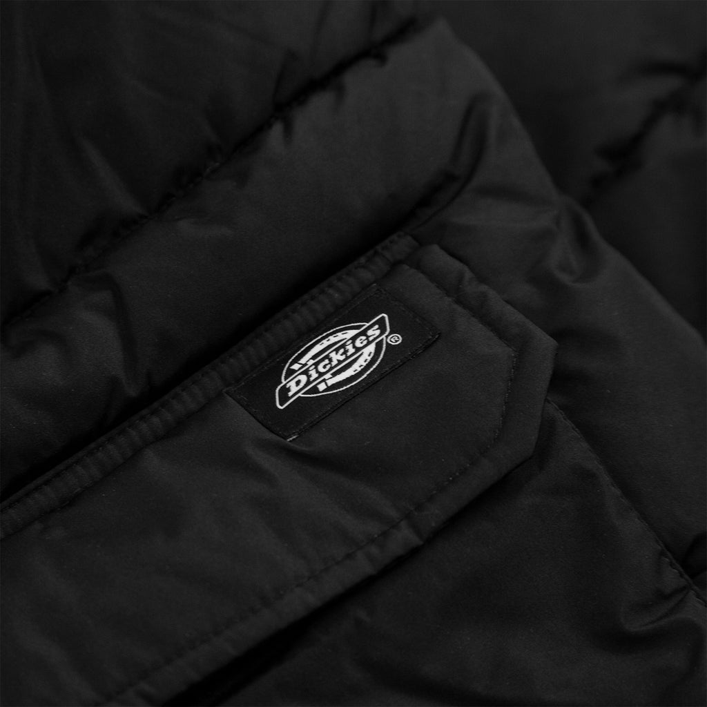 Dickies Olaton Jacket in Black - Label