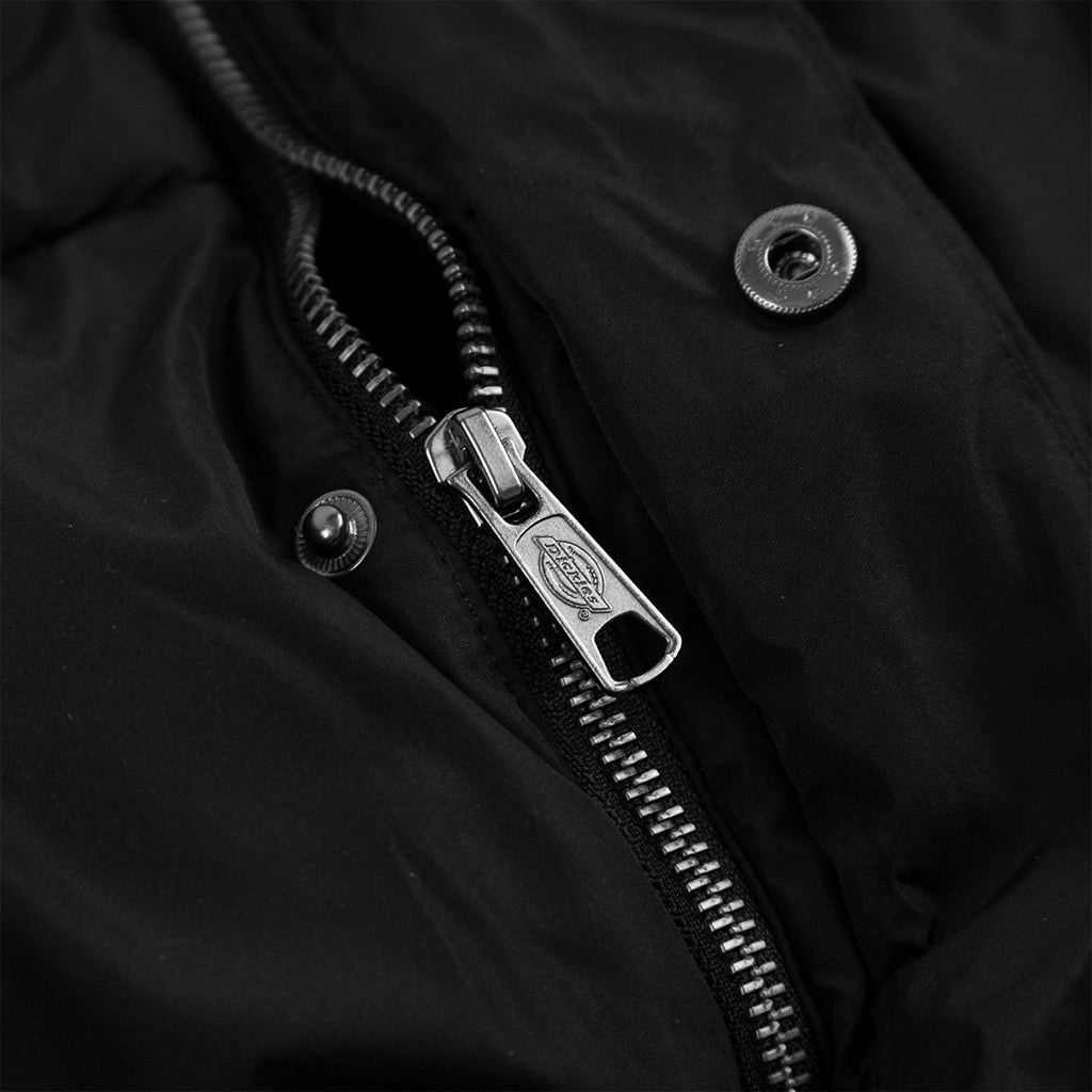 Dickies Olaton Jacket in Black - Zip