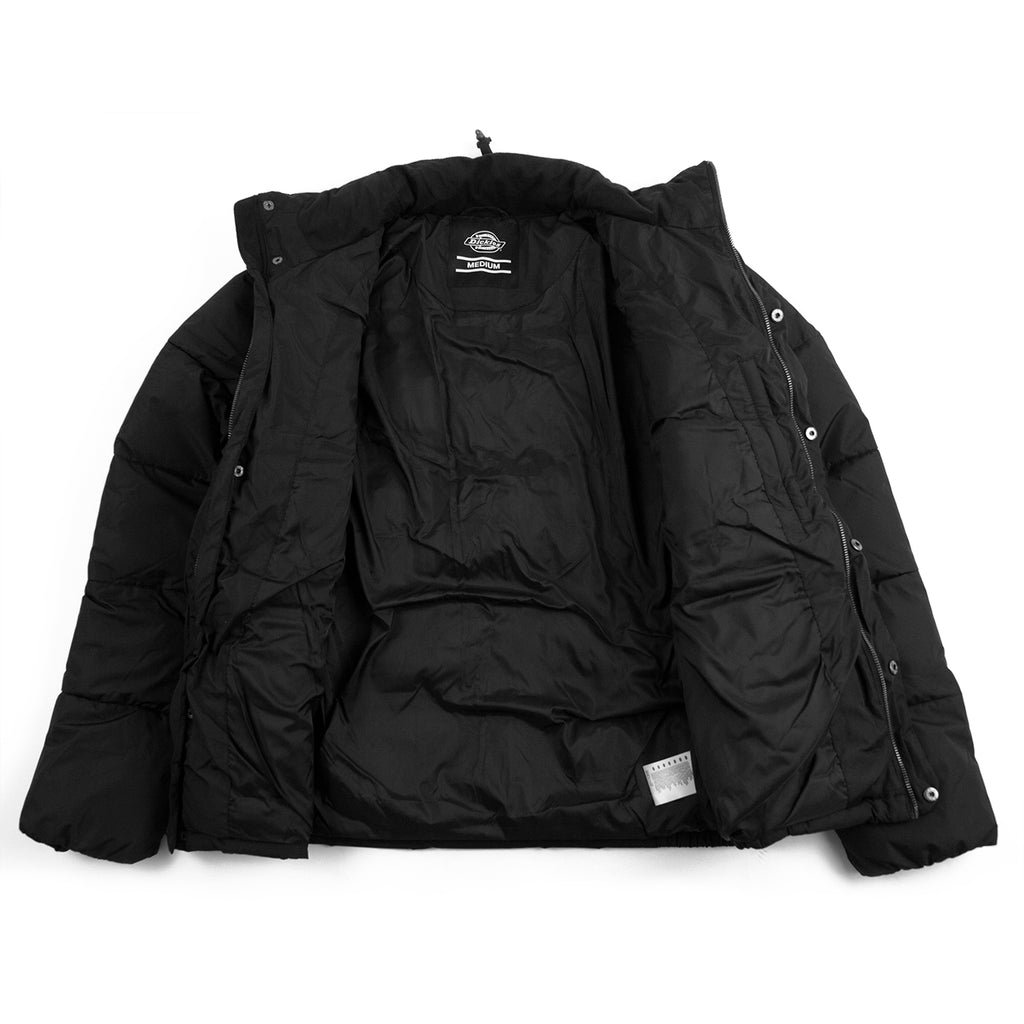 Dickies Olaton Jacket in Black - Open