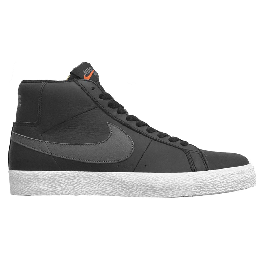 NikeSBZoomBlazerMidISOShoes-Black/DarkGrey-Black-White - Side