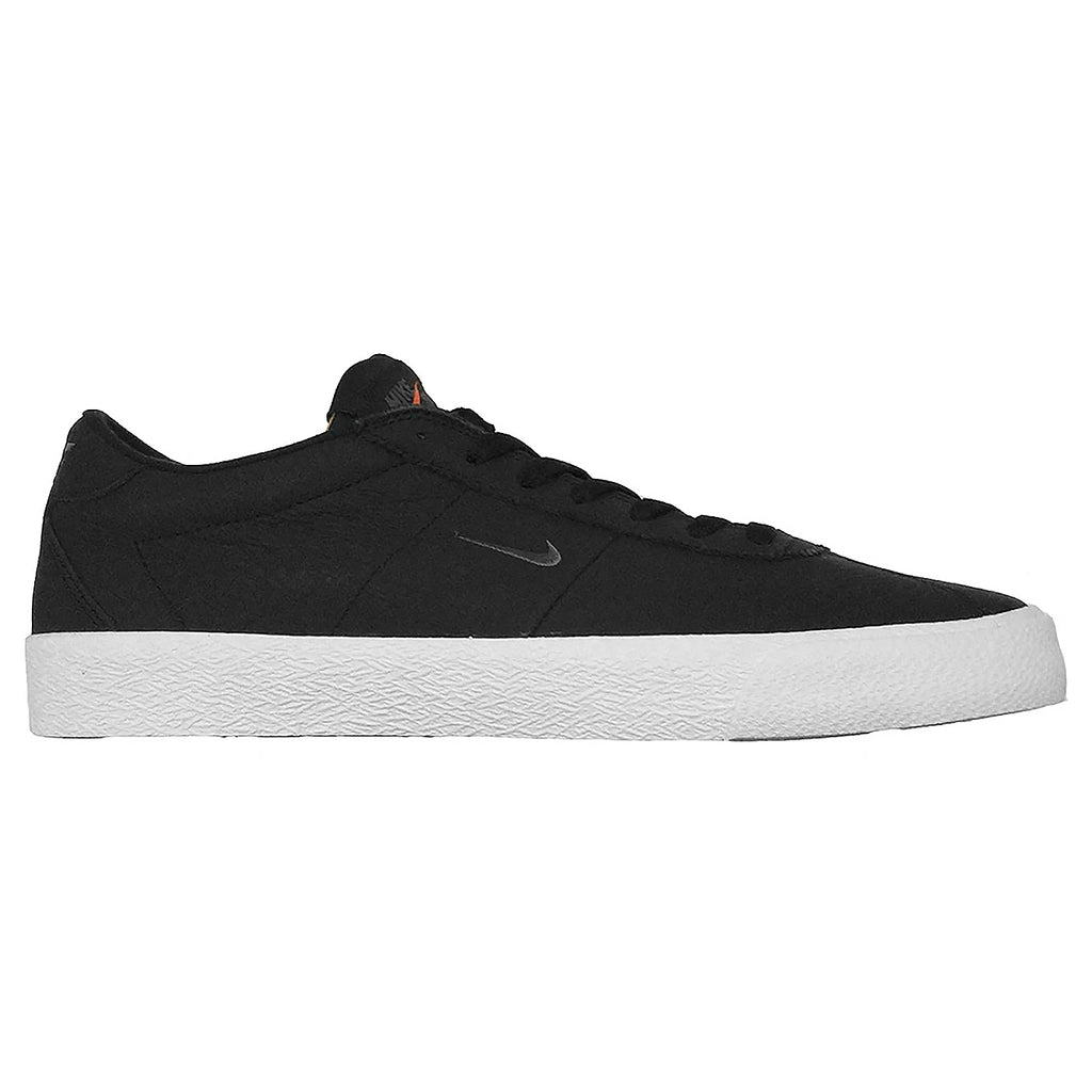 Nike SB Orange Label Zoom Bruin ISO Shoes Black / Dark Grey / Black / White - Side