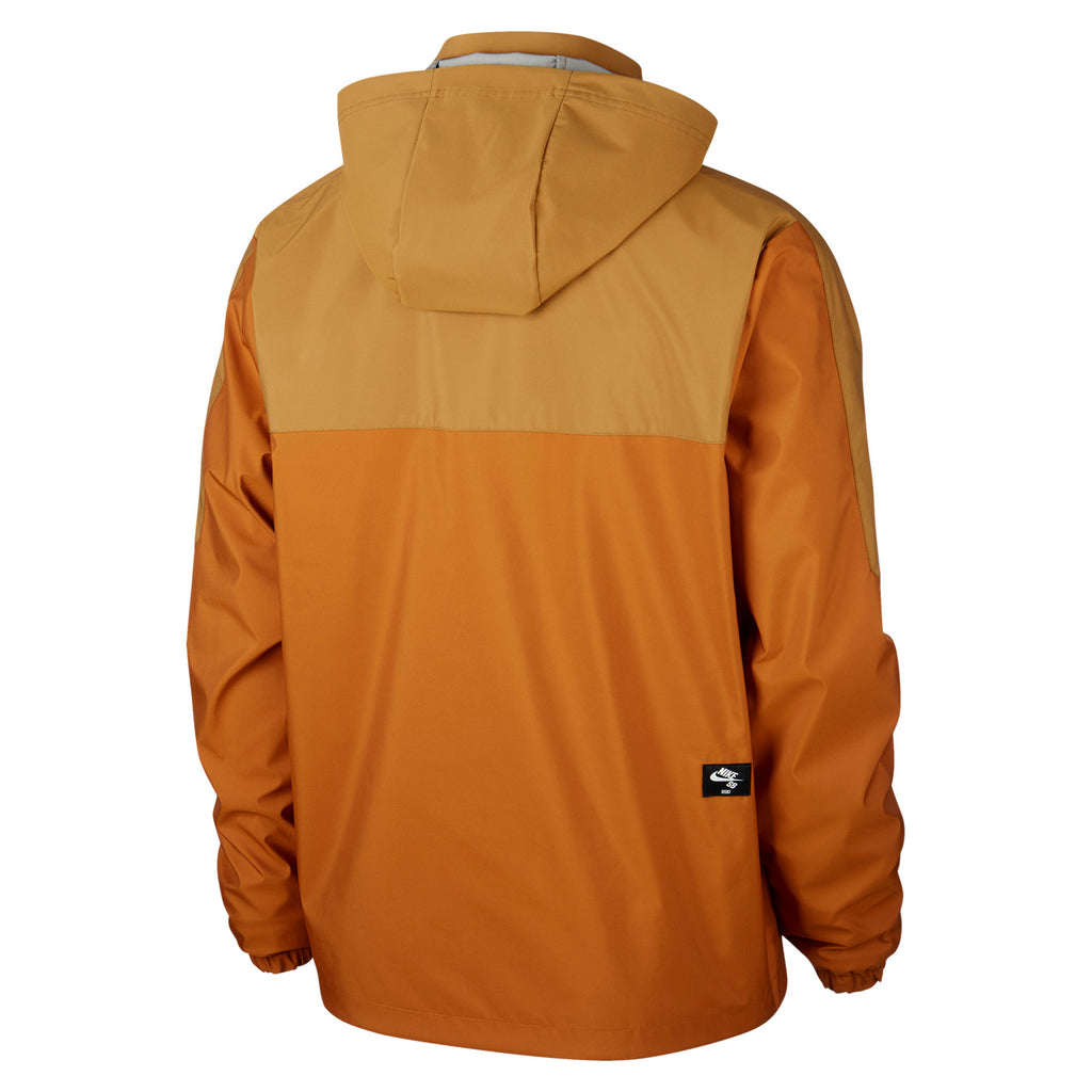 Nike SB Orange Label x Oski Reversible Jacket in Muted Bronze / Burnt Sienna / Black - Back