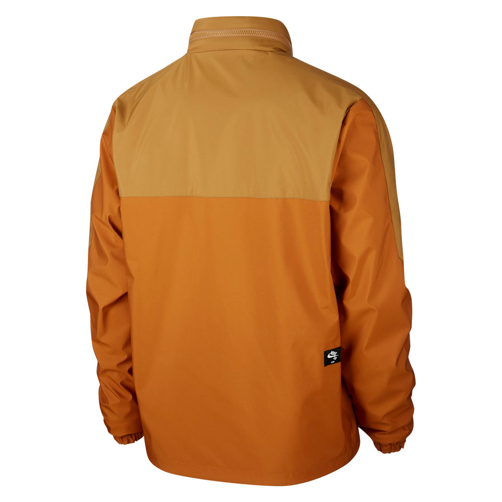 Nike SB Orange Label x Oski Reversible Jacket in Muted Bronze / Burnt Sienna / Black - Back 2
