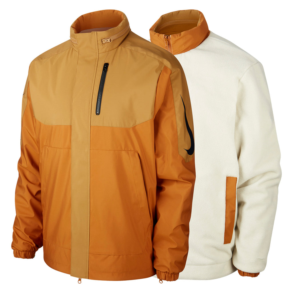 Nike SB Orange Label x Oski Reversible Jacket in Muted Bronze / Burnt Sienna / Black - Pair