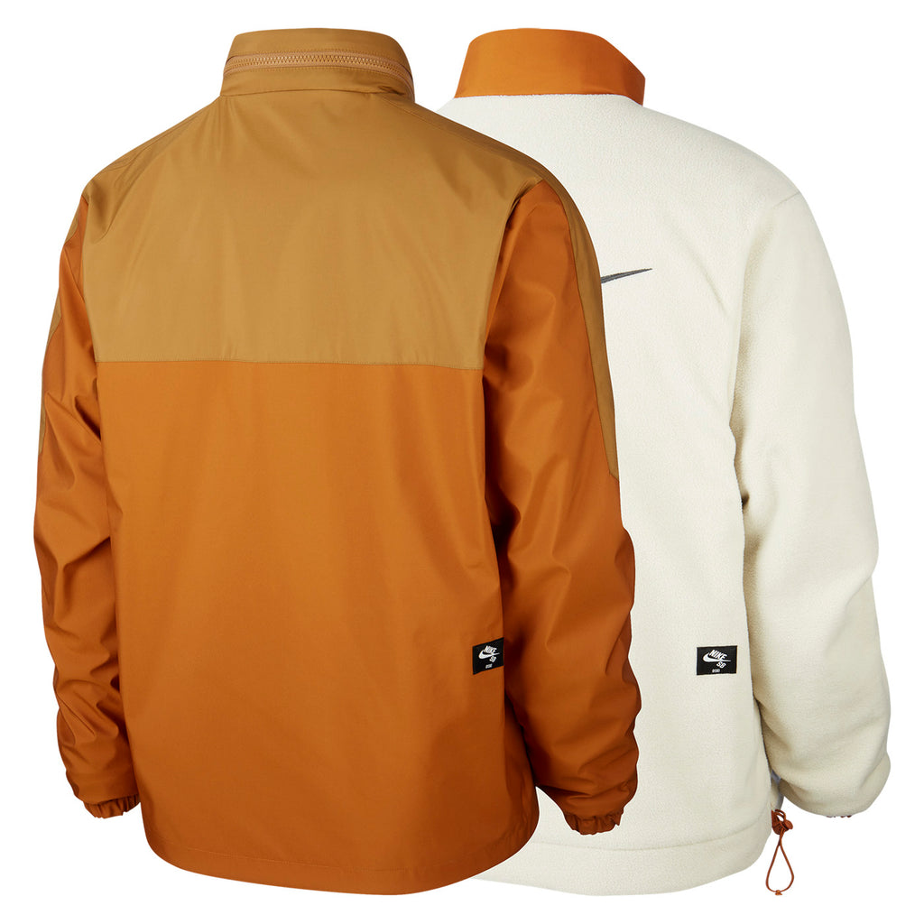 Nike SB Orange Label x Oski Reversible Jacket in Muted Bronze / Burnt Sienna / Black - Pair 2