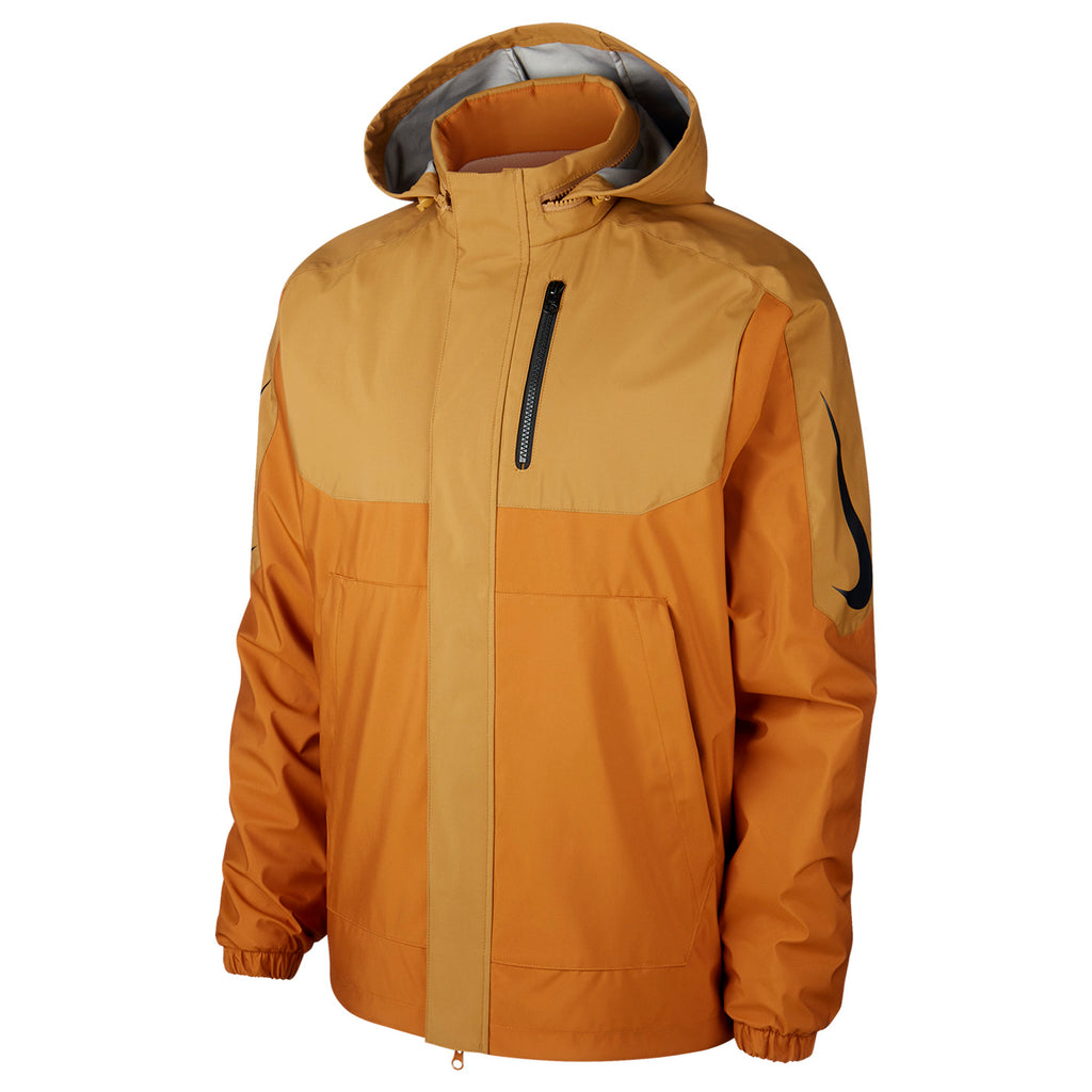 Nike SB Orange Label x Oski Reversible Jacket in Muted Bronze / Burnt Sienna / Black - Detail