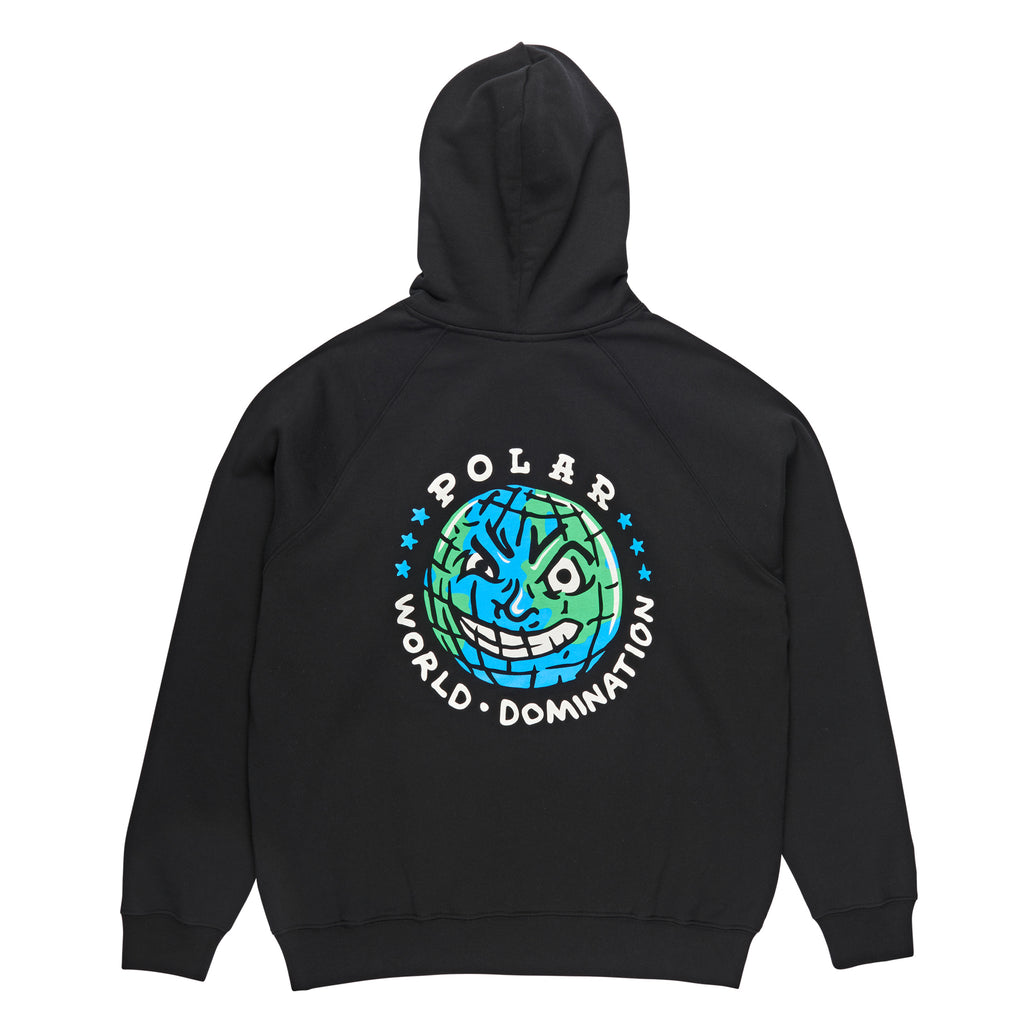 Polar Skate Co P.W.D Hoodie in Black