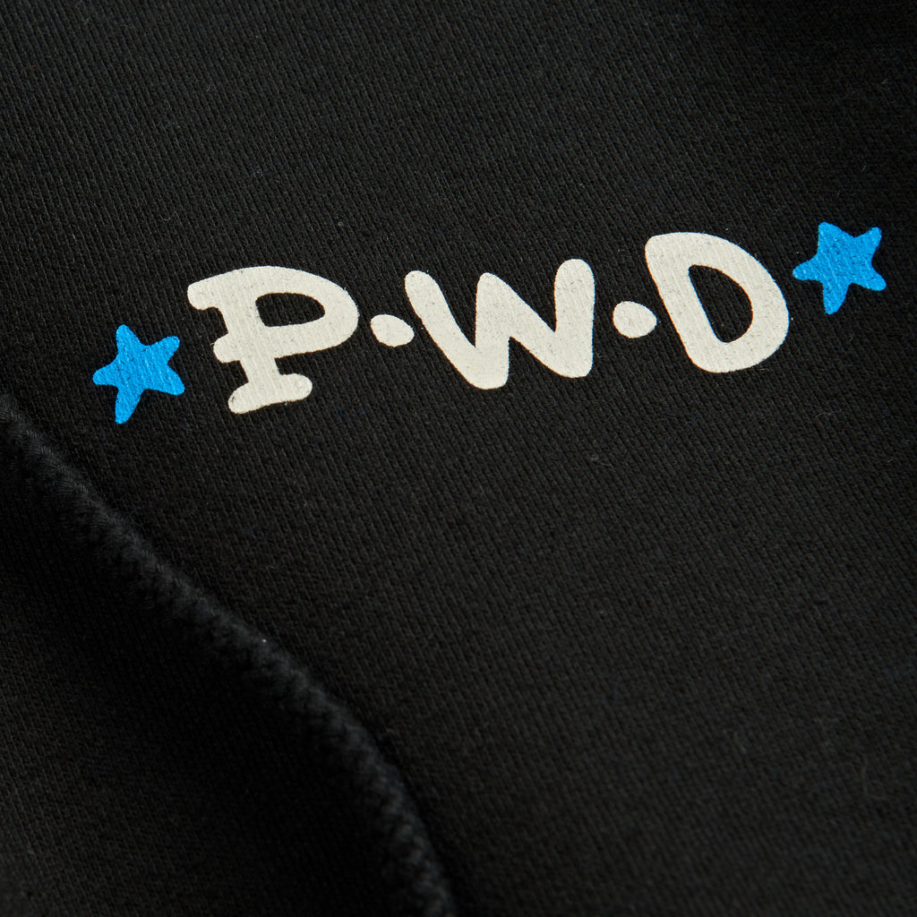 Polar Skate Co P.W.D Hoodie in Black - Print 2