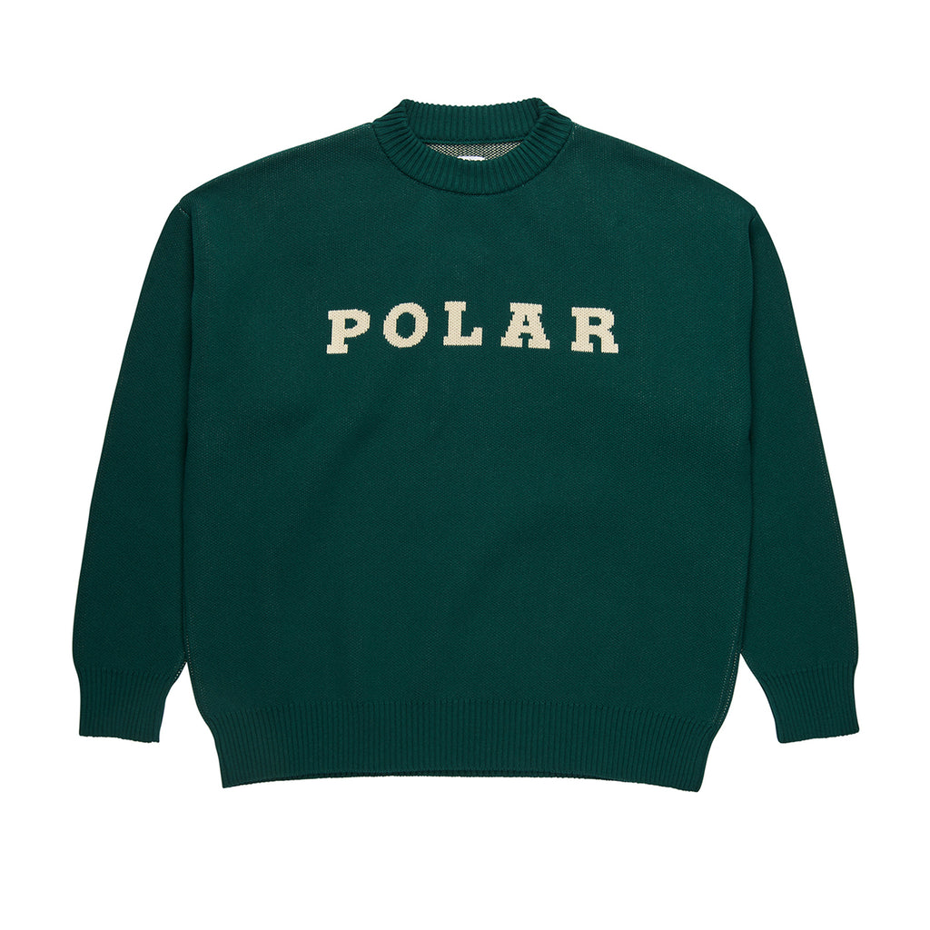 Polar Skate Co Polar Knit Sweater in Dark Green