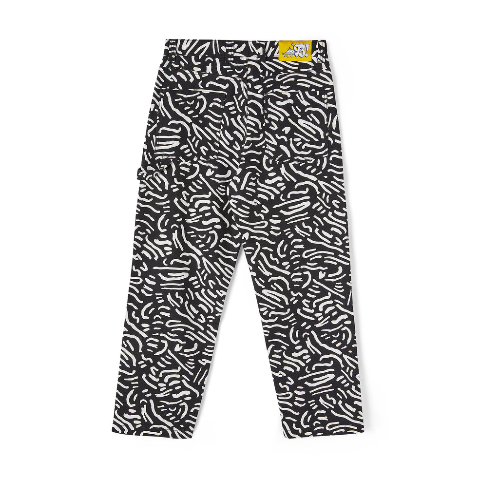 Polar Skate Co 93 Canvas Cell Pants in Black