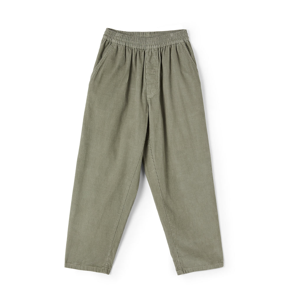 Polar Skate Co Cord Surf Pants in Smoke - Front