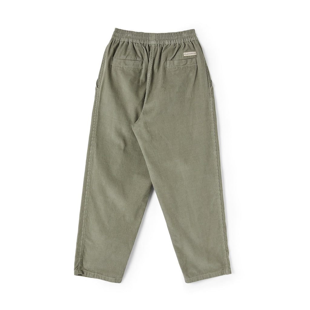Polar Skate Co Cord Surf Pants in Smoke