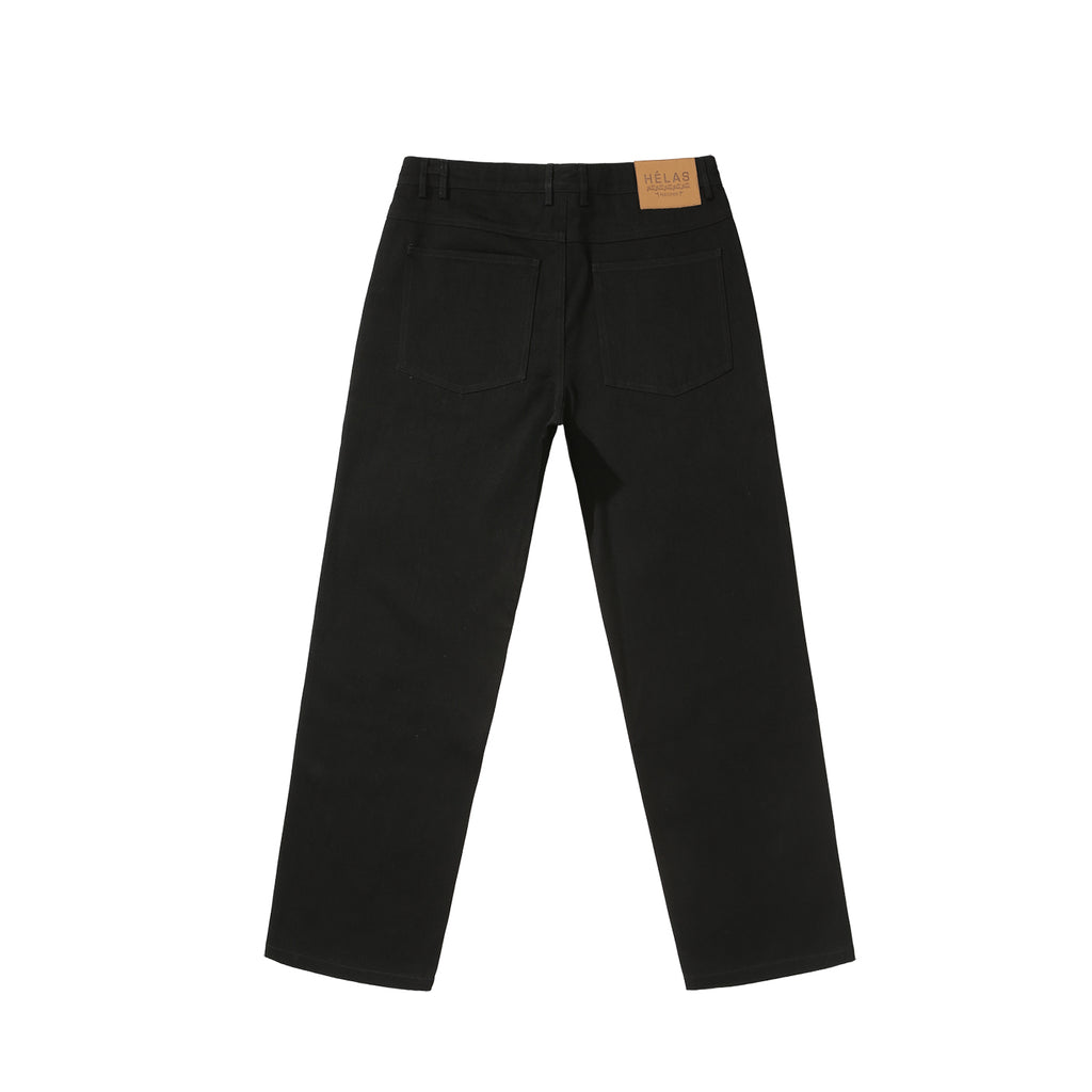 Helas Poppin Denim Pant in Black