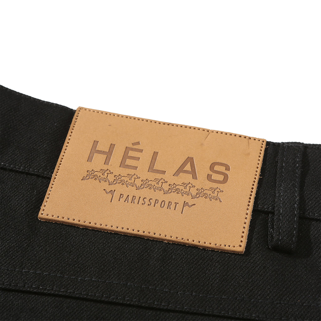 Helas Poppin Denim Pant in Black - Label