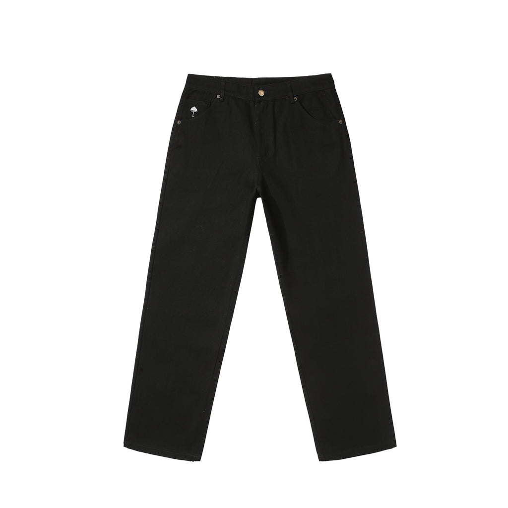 Helas Poppin Denim Pant in Black - Front