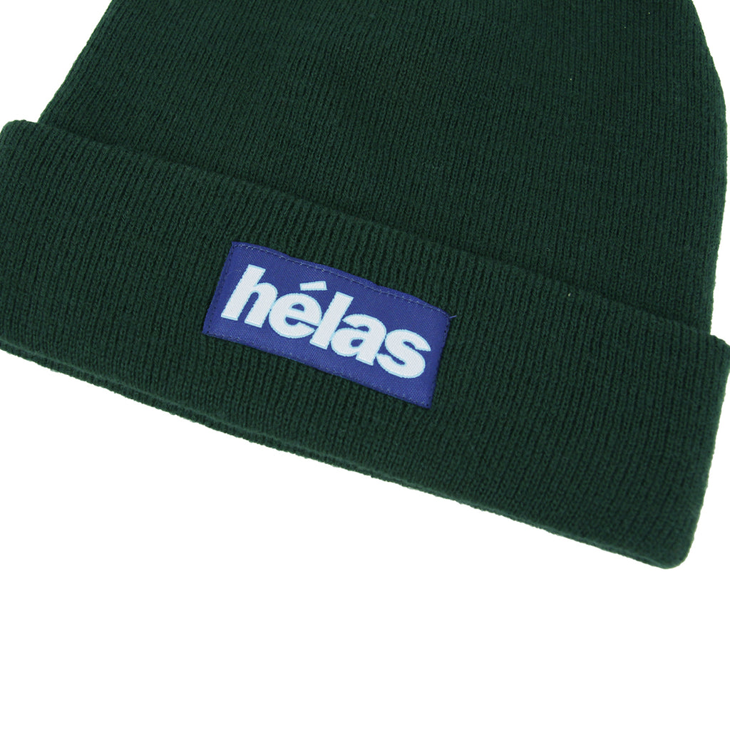 Helas Proper Beanie in Green - Detail