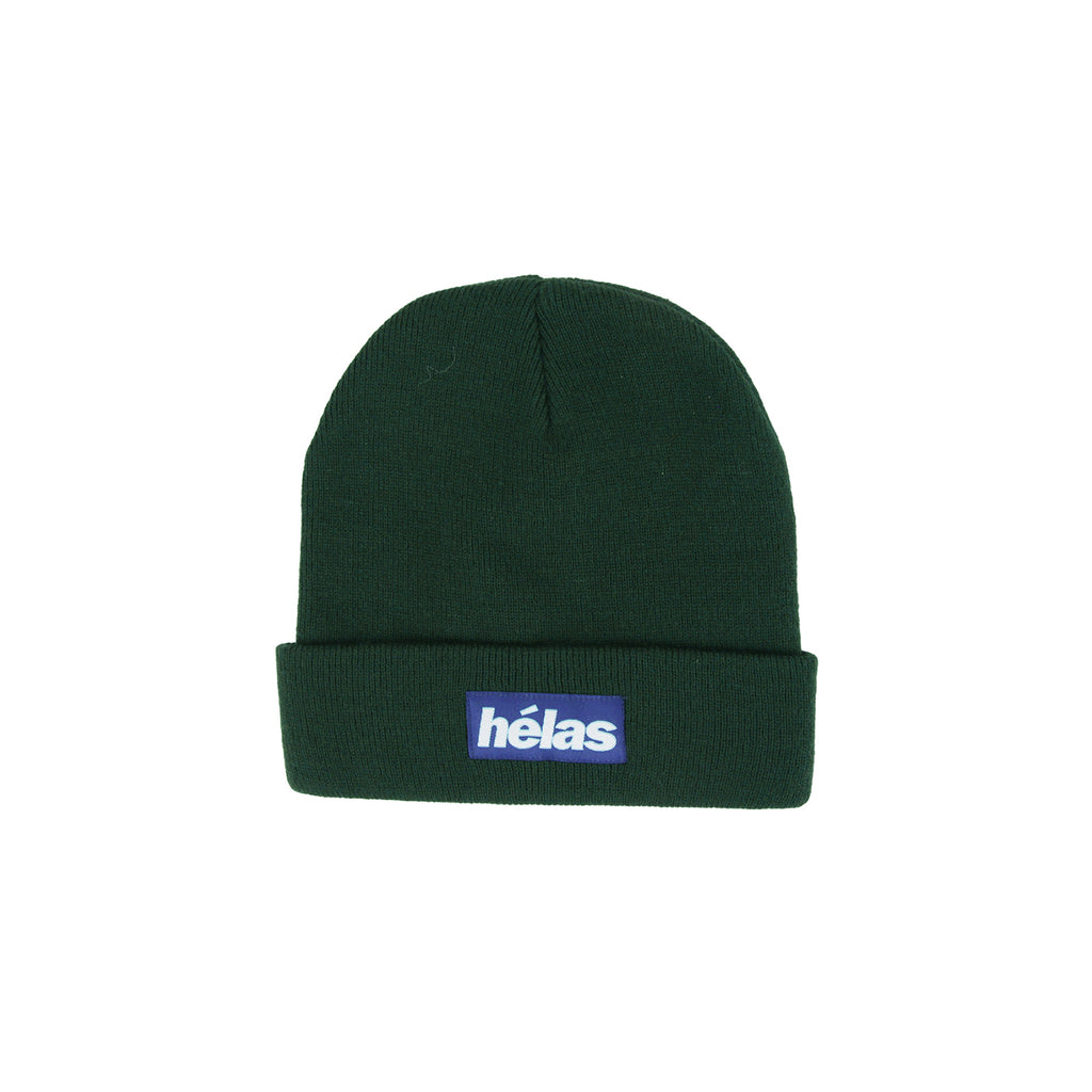 Helas Proper Beanie in Green