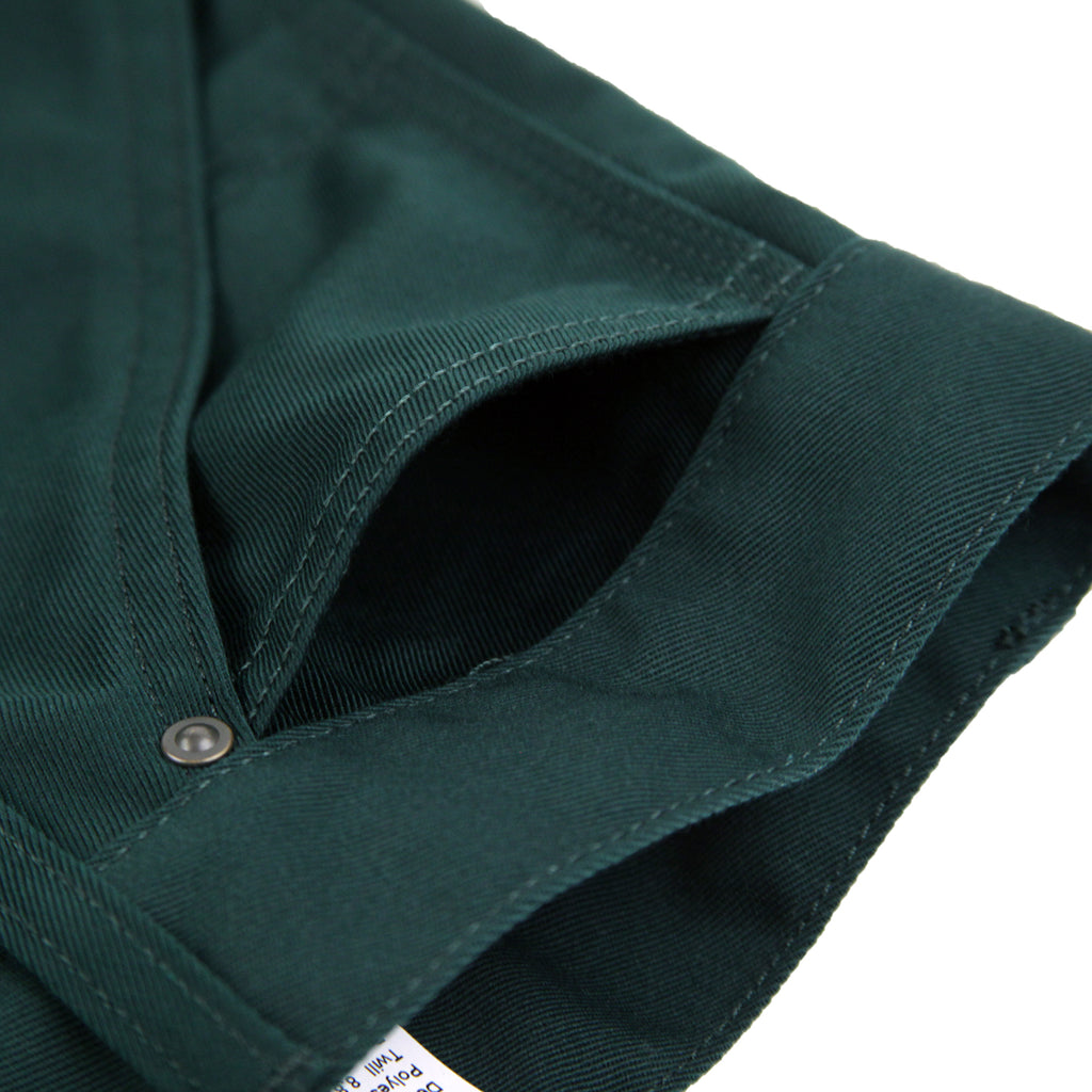 Carhartt WIP x Pass Port Pall Pant in Bottle Green - Small Pocket
