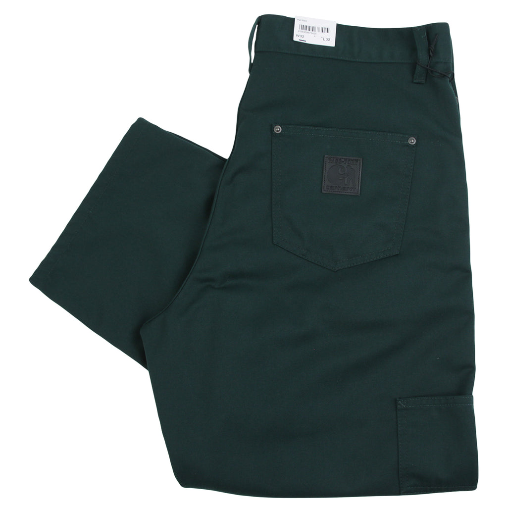 Carhartt WIP x Pass Port Pall Pant in Bottle Green