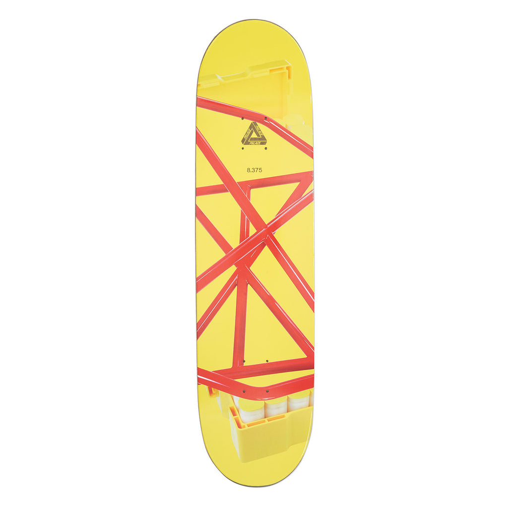 "Palace Chewy Pro S16 Skateboard Deck in 8.375"" - Top"