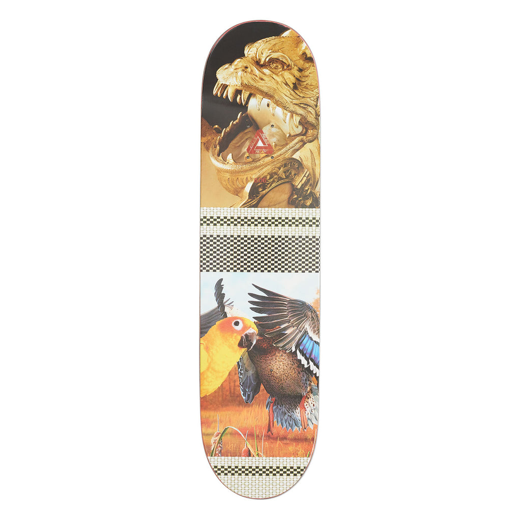 "Palace Rory Pro S16 Skateboard Deck in 8.06"" - Top"