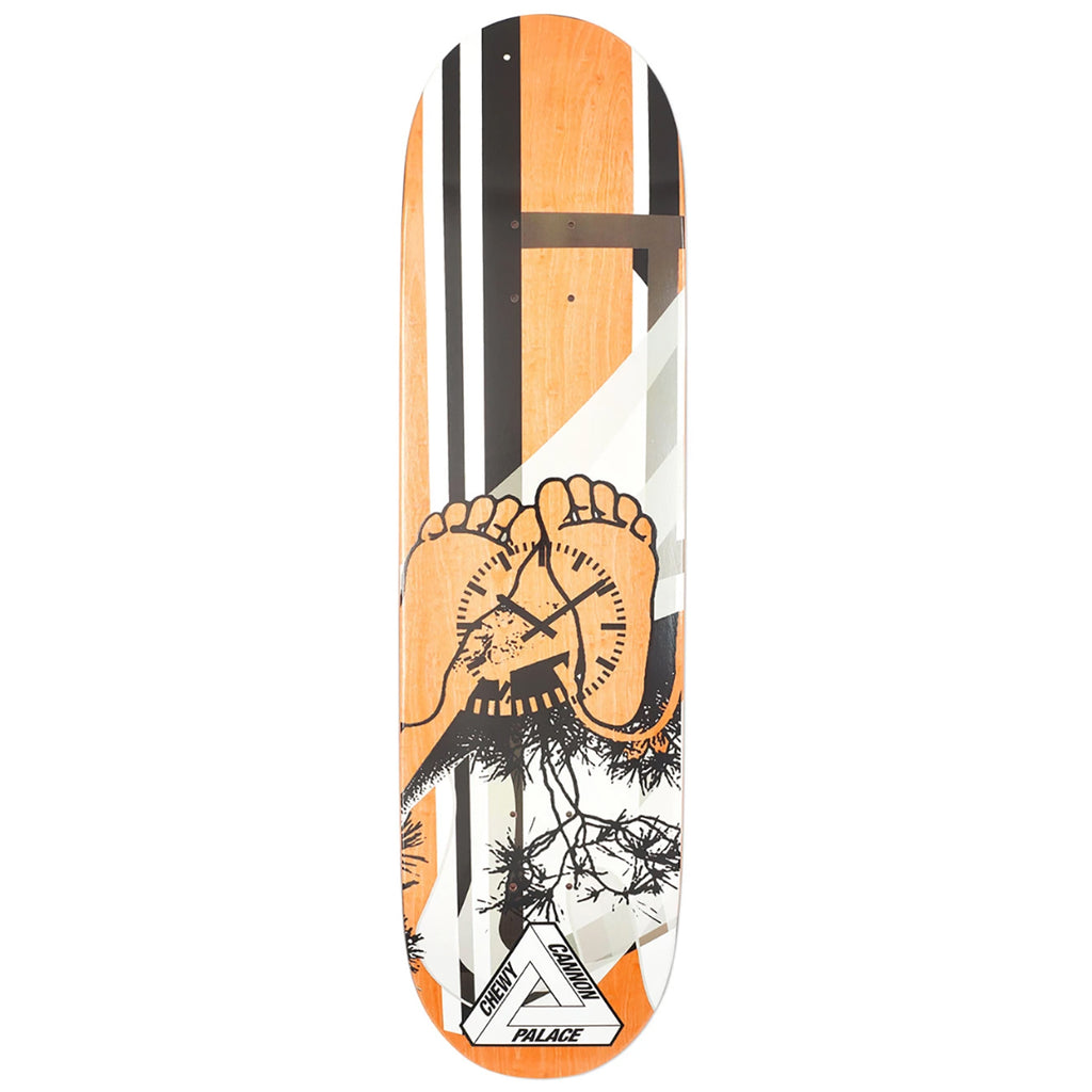 "Palace Chewy Pro S17 Skateboard Deck in 8.375"" - Bottom"