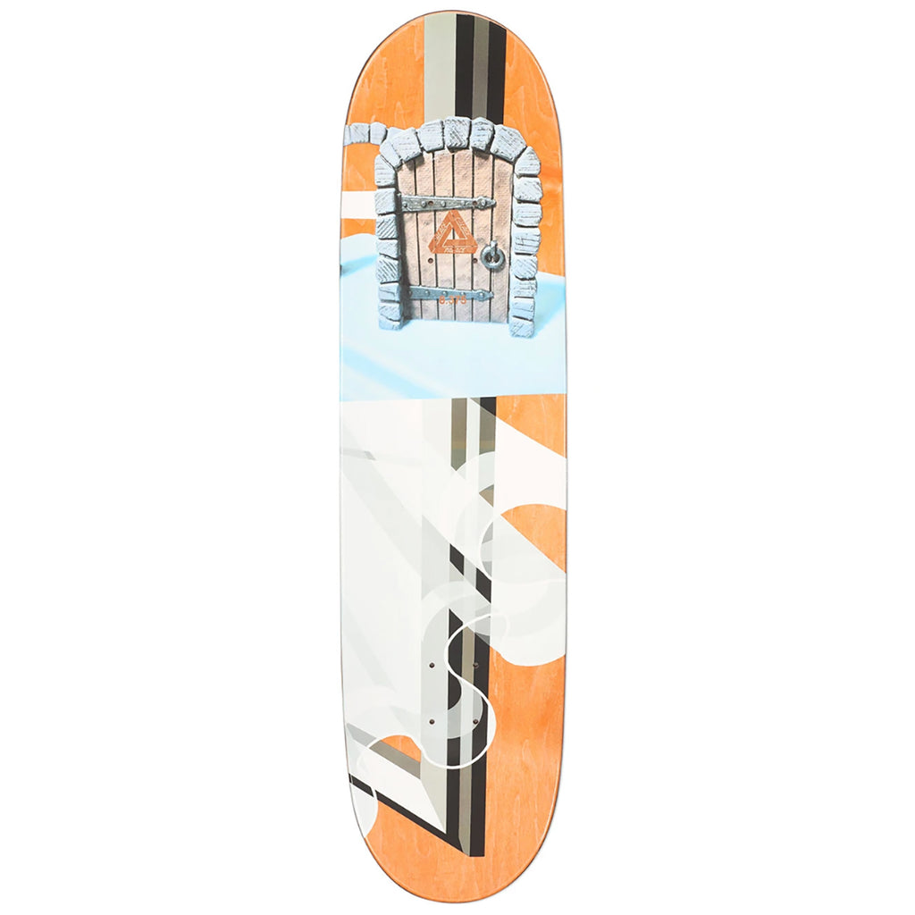 "Palace Chewy Pro S17 Skateboard Deck in 8.375"" - Top"