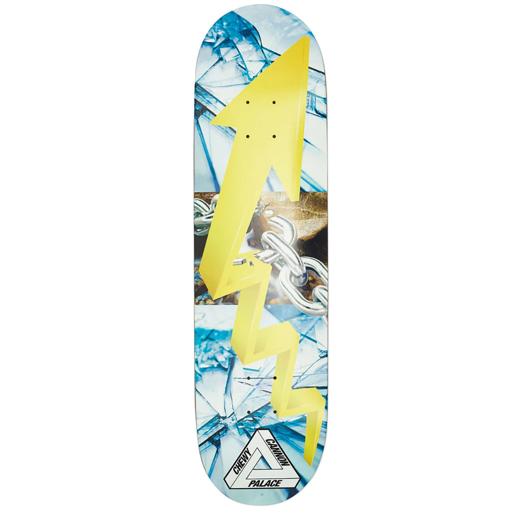 "Palace Chewy Pro S18 Skateboard Deck in 8.375"" - Bottom"