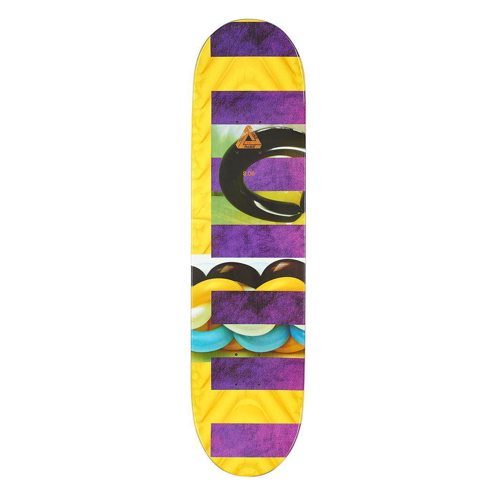 "Palace Fairfax Pro S13 Skateboard Deck in 8.06"" - Top"