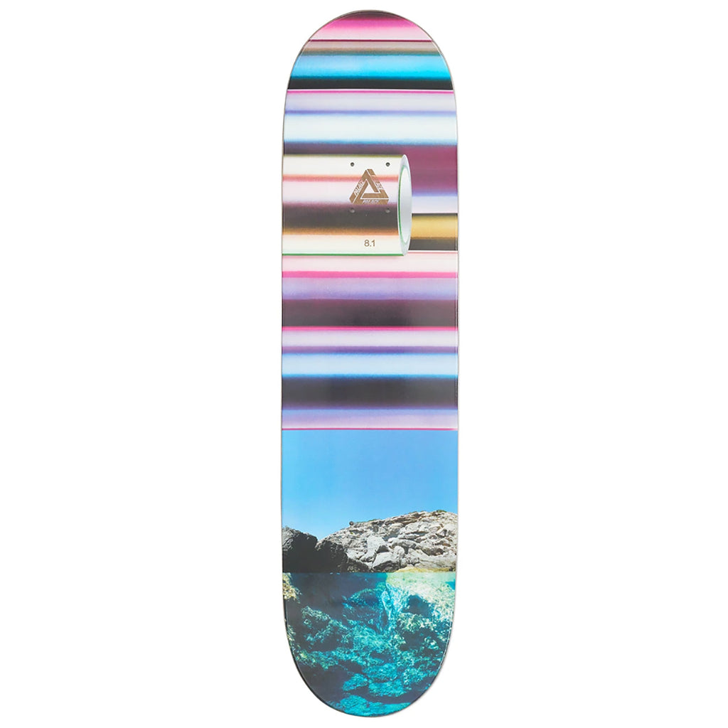 "Palace Jamal Pro Shower Skateboard Deck in 8.1"" - Top"