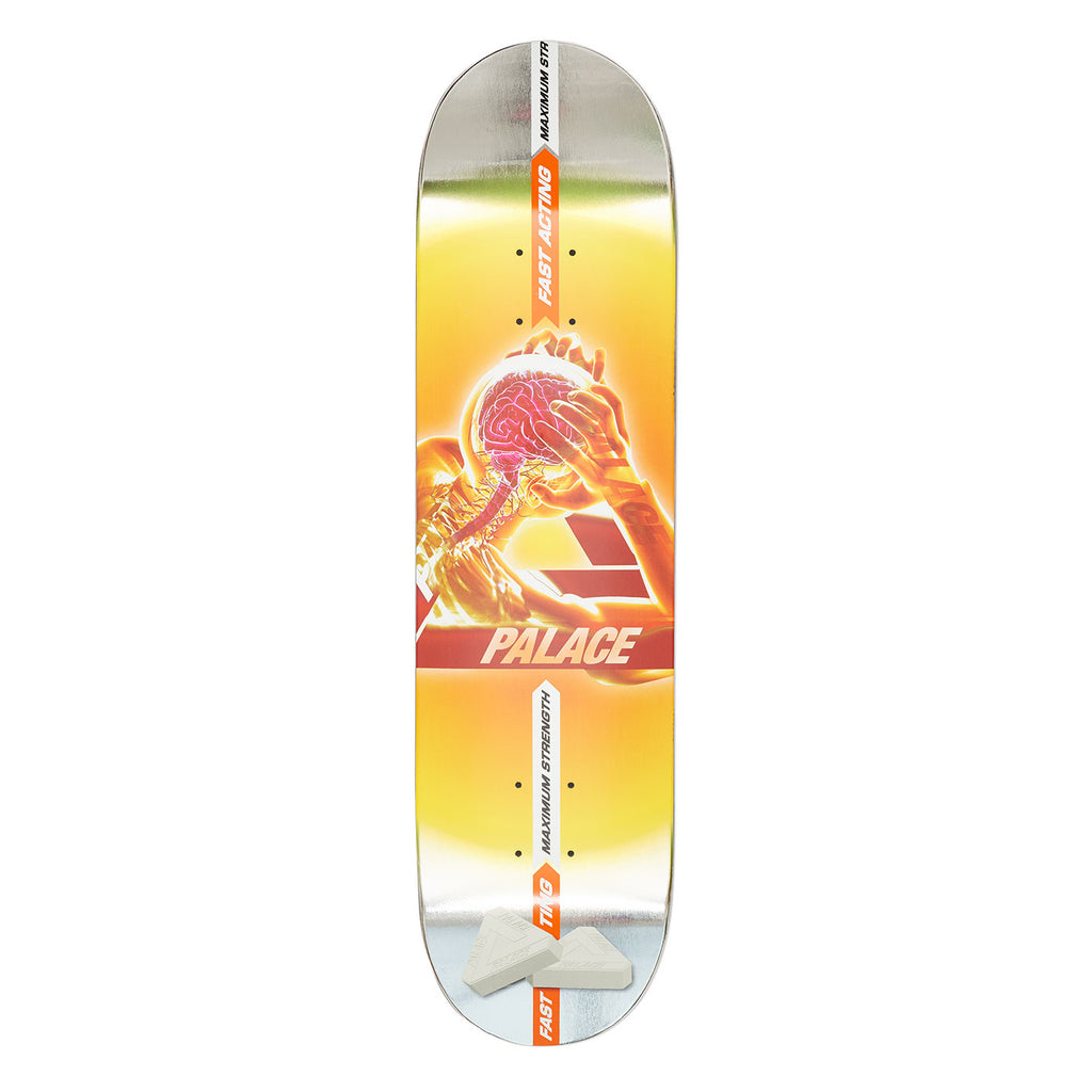 Palace Tri-Gaine Skateboard Deck in 8.1""