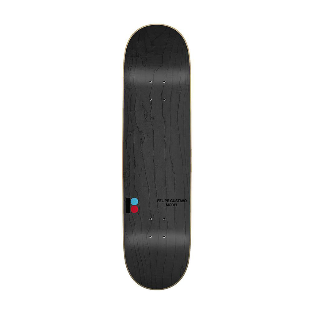 "Plan B Felipe Geo Skateboard Deck in 8.25"" - TOP"