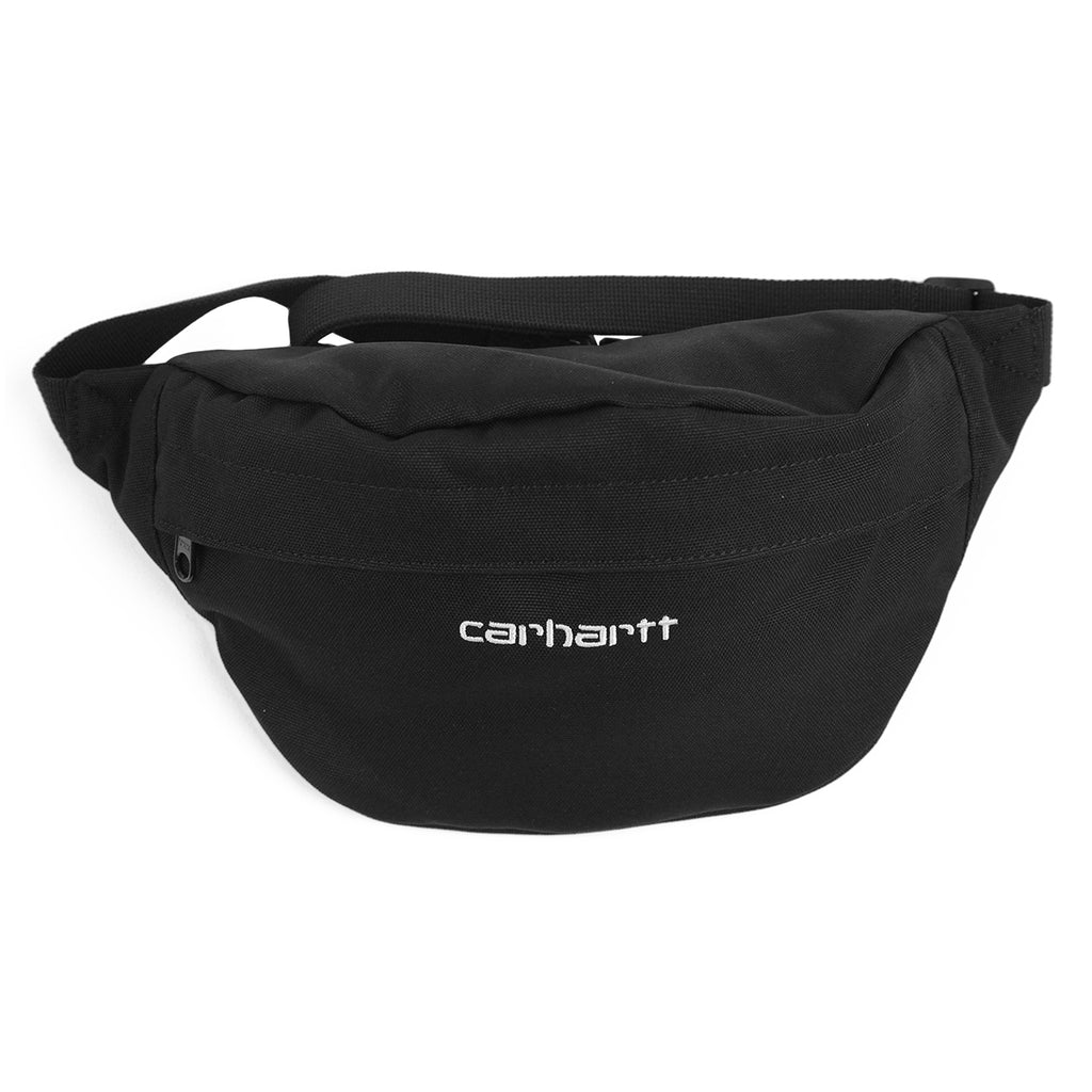 Carhartt Payton Hip Bag in Black / White - Detail