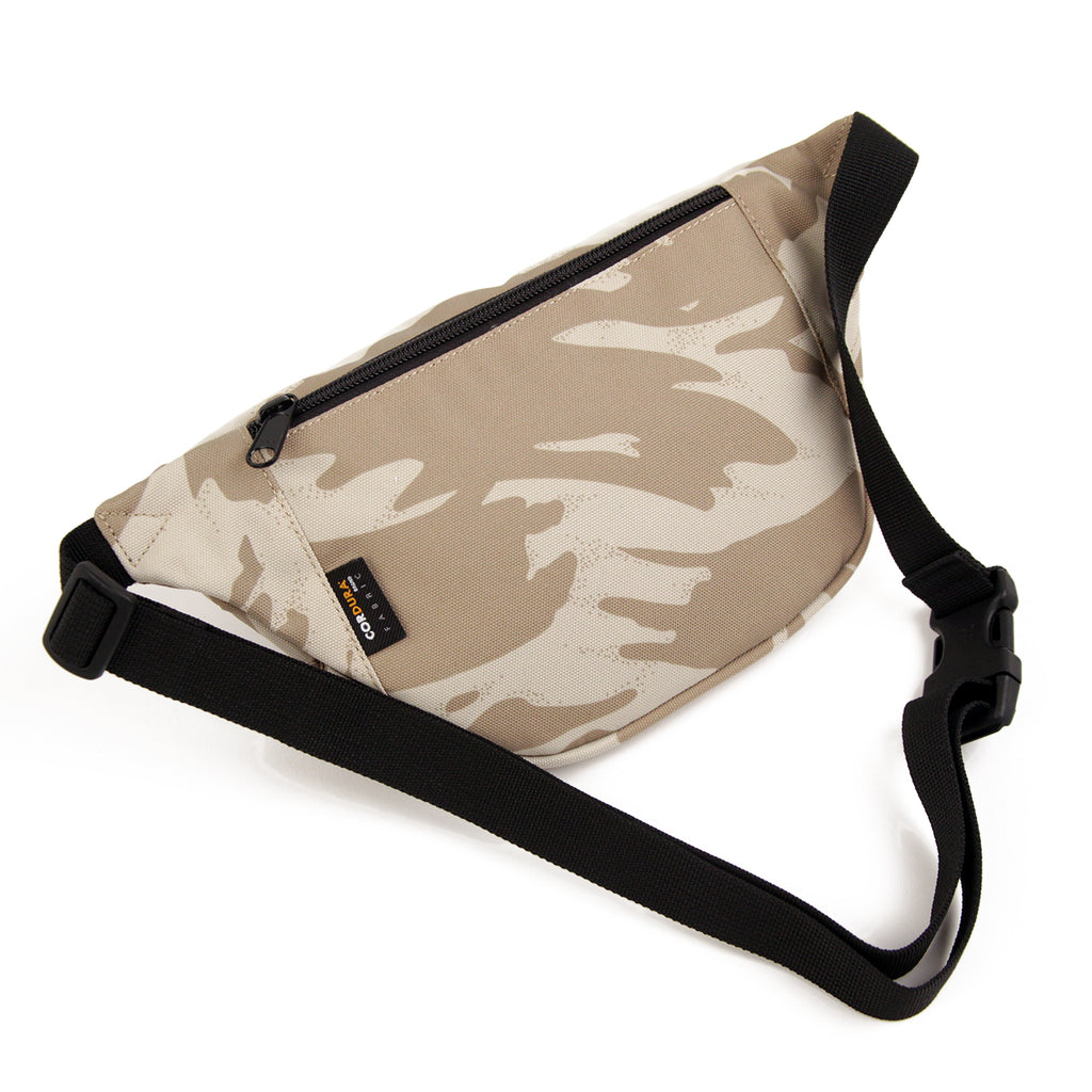 Carhartt Payton Hip Bag in Camo Brush Sandshell / Black - Back