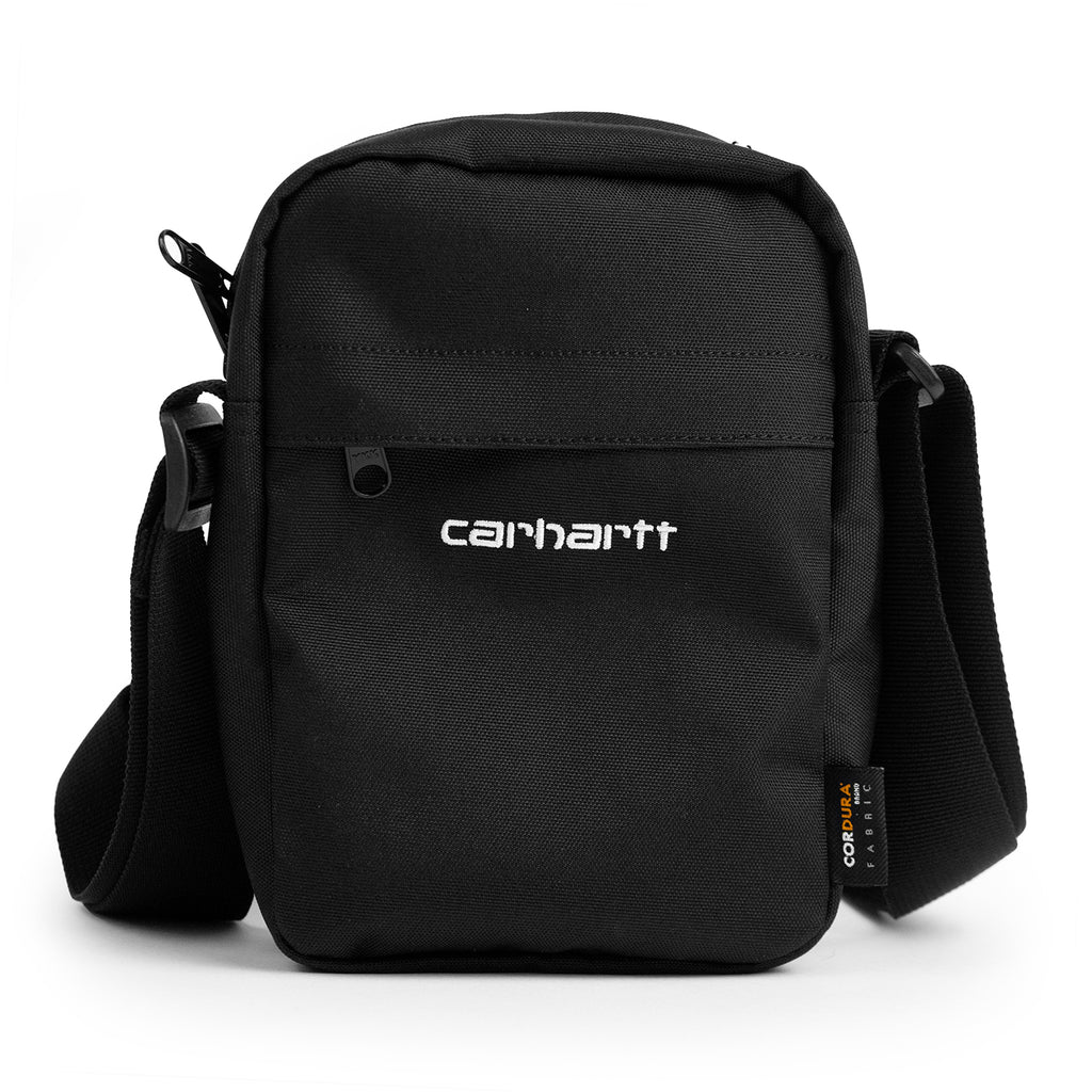 Carhartt WIP Payton Shoulder Pouch Bag in Black / White