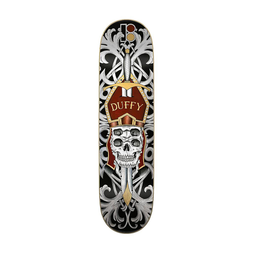 Plan B Duffy Cranial Skateboard Deck in 8.75""
